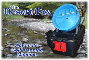 desert fox gold panning machine